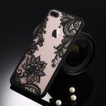 Pouzdro Kisscase průhledné plastové obal iPhone 5,5S,SE