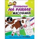 Zvieratká na farme Maľovanka