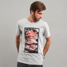 Adidas Tongue Label 2 melange šedé
