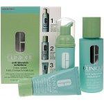 Clinique Anti-Blemish Solutions 3-Step System Formule S.O.S. čisticí pěna 50 ml + pleťová voda 100 ml + hydratační krém 30 ml dárková sada