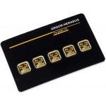 Heraeus Zlatý slitek Multicard 5 x 1 g