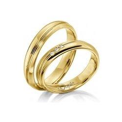Couple Navagio Snubni Prsteny Zlute Zlato C 35 Wn Od 12 250 Kc