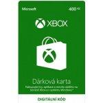 Microsoft Xbox Live předplacená karta 400 CZK