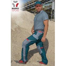 Markostyle Top Class pracovní kalhoty do pásku zelené alternativy ... ab3a6809da
