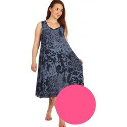 a309f5cb2f83 Dlouhé letní květinové šaty 425118 růžová od 585 Kč - Heureka.cz