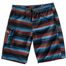Matix Dandy Stripe Boardshort černé