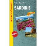 Sardinie průvodce na spirále s mapou MP