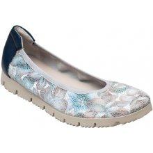Sante zdravotní obuv Dámské kožené elegantní bílo  modré 34fc98dc8ee