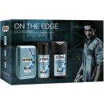 Str8 On The Edge voda po holení 50 ml + deospray 150 ml + sprchový gel 250 ml dárková sada
