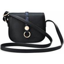 b132655238 Monnari malá dámská kabelka s klopou přívěšek černá