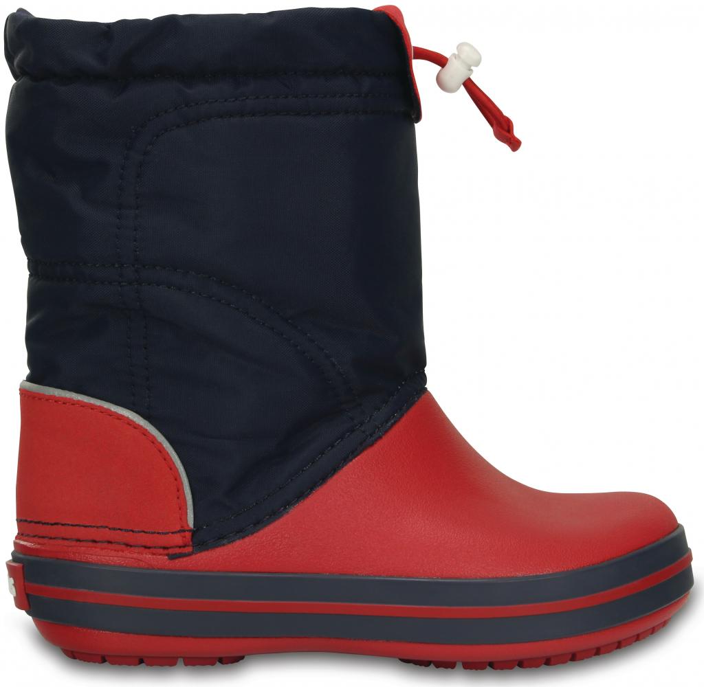 f6cd041193f Crocs Crocband LodgePoint Boot K Navy Red od 988 Kč - Heureka.cz