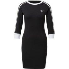 Adidas krátké šaty šaty 3-Stripes černá cf68e95496