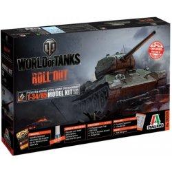 World of Tanks T 34 85 1:35 Heureka.cz