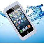 Pouzdro SES Vodotěsné Apple iPhone 5/5S/SE - bílé