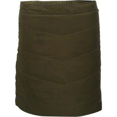Klinga dámská krátká prošívaná sukně 2117 zelená