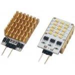 LED žárovka SIDELED 2 W LEDxON SideLED 2W BLAU 2 W 12 V AC DC modrá