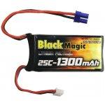 LiPol Black Magic 7.4V 1300mAh 25C EC2