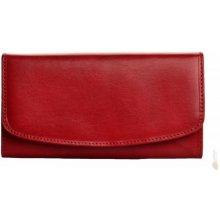 Hellix dámská kožená peněženka 1209 V vínová červená