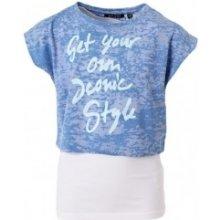 BLUE SEVEN set Tílko + krátké tričko 502516 levandulová