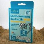 Jarrow Saccharomyces Boulardii + MOS proBiotika 5 miliard x 30 rostlinných cps.