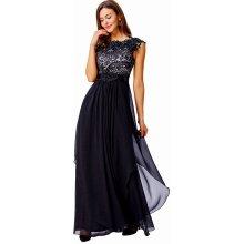 Kate Kasin společenské šaty dlouhé KK000167-2 černá 89c10a8971