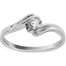 8535d9afa iZlato Forever Zásnubní prsten s diamantem 0,080 ct Sheila 9 white KU217A