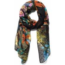 Desigual barevný šátek Tiger Flower 2da210b31a