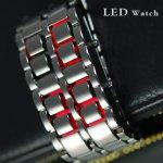LED IRON SAMURAI, Grafitové červené