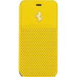 Pouzdro Ferrari Apple iPhone 6/6S GTB Book žluté