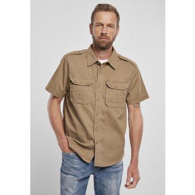 Brandit košile vintage shirt shortsleeve camel