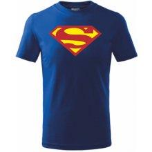 Dětské tričko SUPERMAN MODRO-ŽLUTÁ