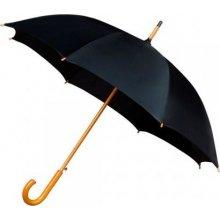 Dámský holový deštník AUTOMATIC černý