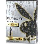 Playboy Vip Black Edition for Him voda po holení 100 ml