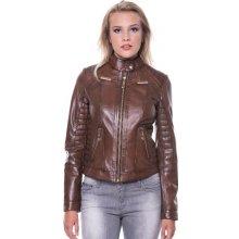 Giorgio Di Mare dámská kožená bunda GI4941939_Chestnut