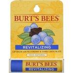 Burt´s Bees Posilující balzám na rty s borůvkou a čokoládou (Revitalizing Blueberry & Dark Chocolate Lip Balm) 4,25 g