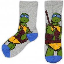 E plus M Chlapecké ponožky Želvy Ninja šedé