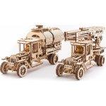 Ugears 3D mechanický model Cisterna a Hasičský vůz Truck UGM-11