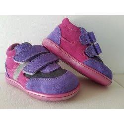Celoroční kožená obuv Jonap licht fialová 162914bb0c