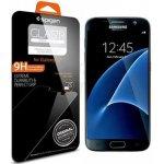 Samsung G930 / Galaxy S7 - Ochranná fólie - Spigen Screen Protector GLAS.tR SLIM / Polykarbonátová