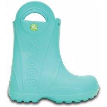 Crocs rain Boot dětské pool blue