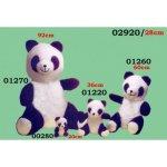 HAMIRO PLUS Plyšový medvěd panda 20 cm 92 cm