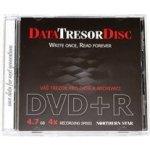 DataTresor DVD+R 4,7GB 4x, jewel, 1ks (DTDCJSPDCDBOX+F)