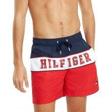 1ed5ee4a53 Tommy Hilfiger pánské plavky 1116 červené - Červená