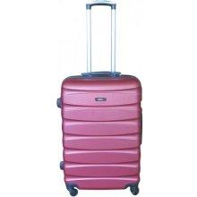 DZL plast S vínová Cestovní kufr