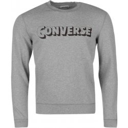 f012de64977 Converse Heritage Crew Sweatshirt Grey Heather