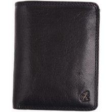 Cosset Velká pánská kožená peněženka 4416 Komodo černá e99f58f078