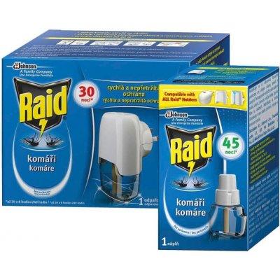 Raid elektrický proti komárům s tekutou náplní 30 45 nocí