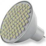 Whitenergy Led žárovka 80xSMD 4W GU5.3 bílá