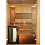 Harvia STRAIGHT 14 X 21 - Dveře do sauny Osika /Olše, Sklo b