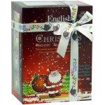ETS Dárková krabička čajů Santa Claus s 12 pyramidkami